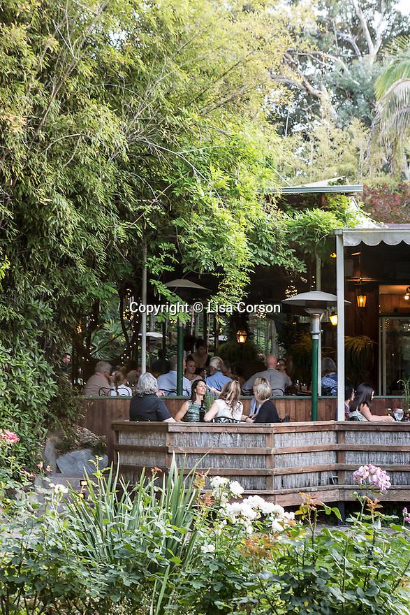 Ranch House restaurant, Ojai, California.