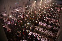 Lyon, 30 January 2019 – The Gala dinner after the competition of the 2019 Finale of the Bocuse d'Or held at the Sirha trade show at Eurexpo in Lyon, France. Photo Bocuse d'Or/Pool