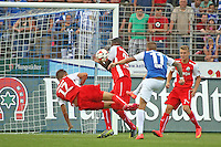 Tobias Kempe (SV 98) zieht ab - SV Darmstadt 98 vs. SV Sandhausen, Stadion am Boellenfalltor