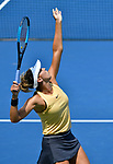 August  18, 2019:  Madison Keys (USA) defeated Svetlana Kuznetsova (RUS) 7-5, 7-6, at the Western & Southern Open being played at Lindner Family Tennis Center in Mason, Ohio. ©Leslie Billman/Tennisclix/CSM