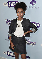 """HOLLYWOOD - OCTOBER 5:  Yara Shahidi at the Los Angeles premiere of """"The Swap"""" at ArcLight Hollywood on October 5, 2016 in Hollywood, California. Credit: mpi991/MediaPunch"""