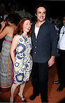 Actress Vicki Lewis and actor Paul Hipp arrive at the Disney-Pixar's WALL-E Premiere on June 21, 2008 at Greek Theatre in Los Angeles, California.