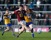 26th January 2020; TEG Cusack Park, Mullingar, Westmeath, Ireland; Allianz Football Division 2 Gaelic Football, Westmeath versus Clare; Jack Smith scores a goal for Westmeath in the 50th minute against Clare