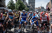 at the race start in Gent<br /> <br /> Belgian National Road Championships 2019 - Gent<br /> <br /> ©kramon