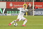 Philip Tuerpitz (Nr.7, SV Sandhausen) am Ball  beim Spiel in der 2. Bundesliga, SV Sandhausen - 1. FC Heidenheim 1846.<br /> <br /> Foto © PIX-Sportfotos *** Foto ist honorarpflichtig! *** Auf Anfrage in hoeherer Qualitaet/Aufloesung. Belegexemplar erbeten. Veroeffentlichung ausschliesslich fuer journalistisch-publizistische Zwecke. For editorial use only. For editorial use only. DFL regulations prohibit any use of photographs as image sequences and/or quasi-video.