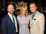 From left: Tony Bradfield, Anne Carl and Andy Cordes at the Houston Chronicle's 2019 Best Dressed Luncheon and Fashion Show at the Post Oak Hotel Thursday March 28,2019.  (Dave Rossman Photo)