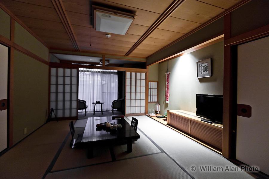 Asukasou Hotel room in Nara Japan January 2010