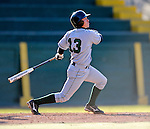 15 April 2008: Dartmouth College Big Green shortstop Jason McManis, a Senior from Flower Mound, Texas, in action against the University of Vermont Catamounts at Historic Centennial Field in Burlington, Vermont. The Catamounts rallied from a 7-3 deficit to win 8-7 over Dartmouth in a non-conference NCAA game...Mandatory Photo Credit: Ed Wolfstein Photo
