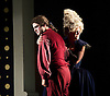 Agrippina<br /> English Touring Opera<br /> at The Royal College of Music, London, Great Britain <br /> 7th October 2013 <br /> Rehearsal <br /> <br /> Gillian Webster as Agrippina<br /> <br /> Andrew Slater as Claudius<br /> <br /> Clink Van Der Kinde as Ottone<br /> <br /> Jake Arditti as Nero <br /> <br /> Luke D Williams<br /> as Lesbo<br /> <br /> Nicholas Merryweather as Pallante<br /> <br /> Paula Sides as Poppea<br /> <br /> Russell Harcourt as Narciso <br /> <br /> Photograph by Elliott Franks