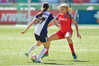 Portland, OR - Saturday September 02, 2017: Allie Long during a regular season National Women's Soccer League (NWSL) match between the Portland Thorns FC and the Washington Spirit at Providence Park.