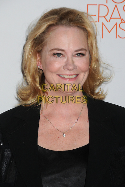 Cybill Shepherd.20th Annual Race To Erase MS Gala held at the Hyatt Regency Century Plaza Hotel, Century City, California, USA, 3rd May 2013..portrait headshot smiling necklace black suit shiny jacket .CAP/ADM/BP.©Byron Purvis/AdMedia/Capital Pictures
