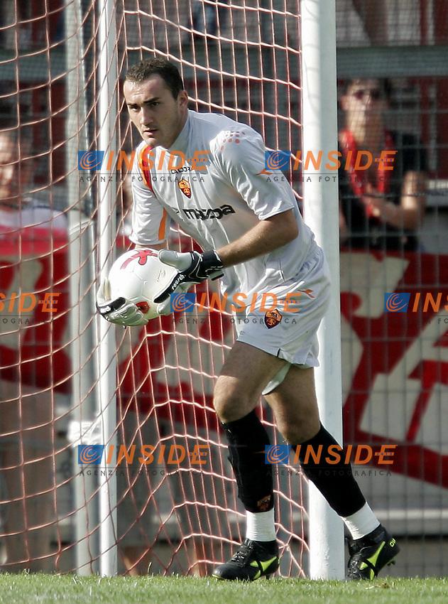 Perugia 25/8/2004 Perugia Roma 2-1 Carlo Zotti (Roma)<br /> Foto Andrea Staccioli Insidefoto