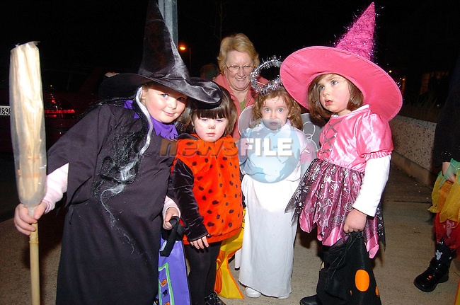 Lea Smith, Ashling Maroney, Beth McQuillan and Alanagh Devine dressed up for Halloween..Photo Fran Caffrey Newsfile.ie..This Picture has been sent to you by Newsfile Ltd..The Studio,.Millmount Abbey,.Drogheda,.Co. Meath,.Ireland..Tel: +353(0)41-9871240.Fax: +353(0)41-9871260.ISDN: +353(0)41-9871010.www.newsfile.ie..general email: pictures@newsfile.ie