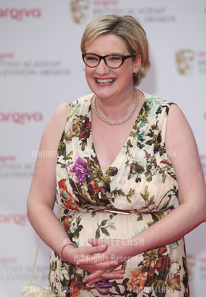 Sarah Millican arriving for the TV BAFTA Awards 2013, Royal Festival Hall, London. 12/05/2013 Picture by: Alexandra Glen / Featureflash