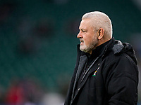 Wales' Head Coach Warren Gatland<br /> <br /> Photographer Bob Bradford/CameraSport<br /> <br /> NatWest Six Nations Championship - England v Wales - Saturday 10th February 2018 - Twickenham Stadium - London<br /> <br /> World Copyright &copy; 2018 CameraSport. All rights reserved. 43 Linden Ave. Countesthorpe. Leicester. England. LE8 5PG - Tel: +44 (0) 116 277 4147 - admin@camerasport.com - www.camerasport.com