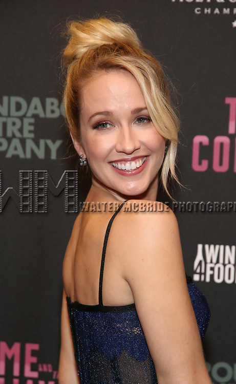 Anna Camp attends the Broadway Opening Night After Party for The Roundabout Theatre Company production of 'Time and The Conways'  on October 10, 2017 at the American Airlines Theatre in New York City.