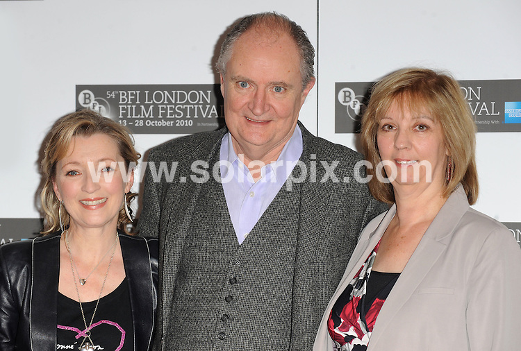 **ALL ROUND PICTURES FROM SOLARPIX.COM**                                             **WORLDWIDE SYNDICATION RIGHTS**                                                                                  Caption:  Photo call for Another Year.  Held at the Vue Cinema, Leicester Square, London, UK. 18 October 2010                                                                             This pic: Jim Broadbent, Lesley Manville and Ruth Sheen                                                                       JOB REF: 12339 SSD       DATE:  18_10_2010                                                          **MUST CREDIT SOLARPIX.COM OR DOUBLE FEE WILL BE CHARGED**                                                                      **MUST AGREE FEE BEFORE ONLINE USAGE**                               **CALL US ON: +34 952 811 768 or LOW RATE FROM UK 0844 617 7637**
