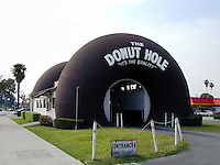 The Donut Hole drive-thru in La Puente, California.