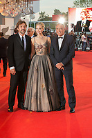 Jennifer Lawrence, Javier Bardem, Alberto Barbera at the &quot;Mother!&quot; premiere, 74th Venice Film Festival in Italy on 5 September 2017.<br /> <br /> Photo: Kristina Afanasyeva/Featureflash/SilverHub<br /> 0208 004 5359<br /> sales@silverhubmedia.com