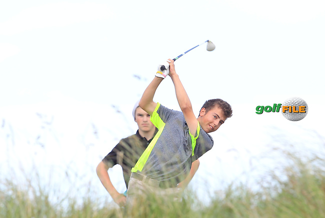 during Round 1 of the Ulster Boys Championship at Castlerock Golf Club on Tuesday 30th June 2015.<br /> Picture:  Golffile | Thos Caffrey
