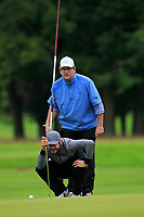 James Heath (ENG) on the 10th green during Round 2 of the Bridgestone Challenge 2017 at the Luton Hoo Hotel Golf &amp; Spa, Luton, Bedfordshire, England. 08/09/2017<br /> Picture: Golffile | Thos Caffrey<br /> <br /> <br /> All photo usage must carry mandatory copyright credit     (&copy; Golffile | Thos Caffrey)