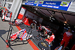 Paddock's Ambiance just in front of Ducati Stand, before Warm Up of this sunday morning, Sunday, June 15, 2008, in Nürburgring, Eifel, Germany. (Valentin Bianchi/pressphotointl.com)