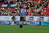 Barry Bannan of Sheffield Wednesday reaction to his shot being saved by Dillon Phillips of Charlton Athletic during Charlton Athletic vs Sheffield Wednesday, Sky Bet EFL Championship Football at The Valley on 30th November 2019