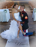 Brittany and Zachery renewed their marriage vows in Uniontown, PA on August 23, 2014. Zachery and his best man were decked out in their dress uniforms.