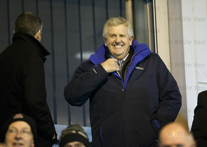 Colin Montgomerie watching the match