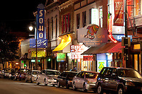 Sixth Street is the one stop resource for live music, clubs, events, dining, lodging, entertainment, art, bands and more