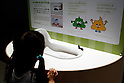 "A girl sees a Japanese toilet at the Toilet!? Human Waste & Earth's Future exposition on August 1, 2014 in Tokyo, Japan. The Toilet!? Human Waste & Earth's Future is an exposition to listen the toilet's voice and explore what is the ""happy toilet"" for each human being on the earth at National Museum of Emerging Science and Innovation in Tokyo from July 2 to October 5. The toilet is related not only to our daily life but also to the global environment. The exposition consist of eight areas where you can learn toilet problems for each generation and in the world. (Photo by Rodrigo Reyes Marin/AFLO)"