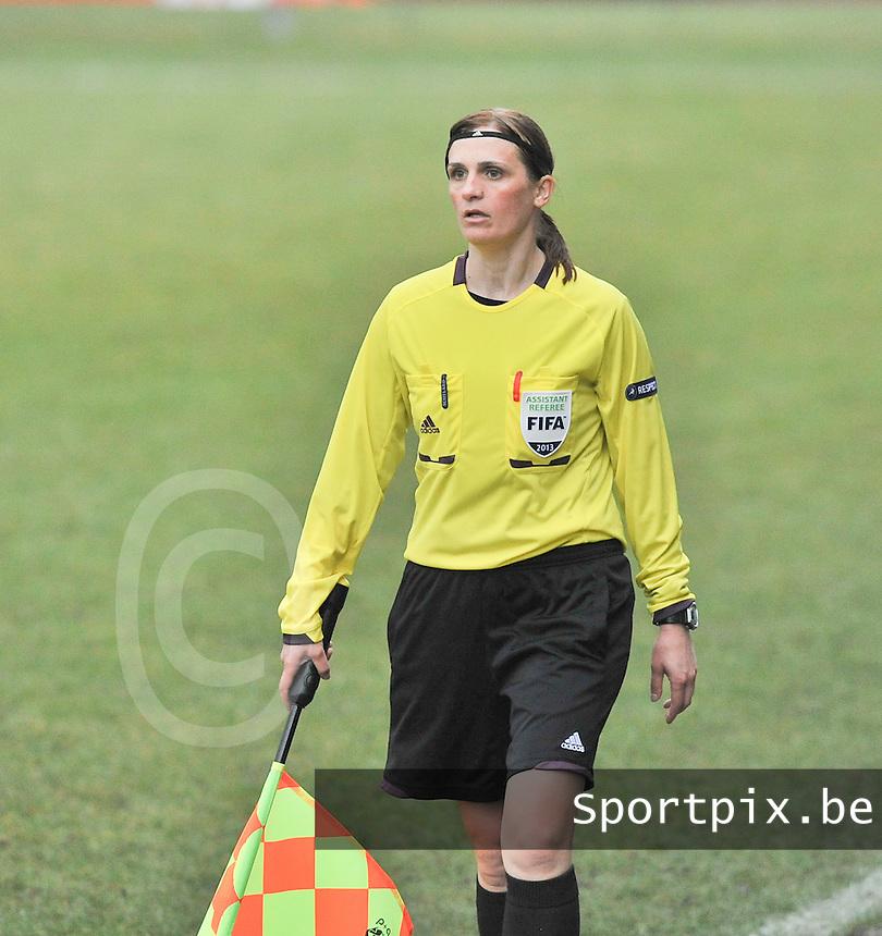 Denmark U17 - Germany U17 : Hasmik Gharibyan.foto Joke Vuylsteke / Vrouwenteam.be