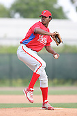 March 18th 2008:  Walter Tejeda of the Philadelphia Phillies minor league system during Spring Training at the Carpenter Complex in Clearwater, FL.  Photo by:  Mike Janes/Four Seam Images