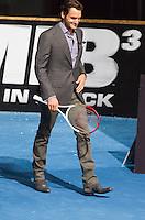 MADRI, ESPANHA, 14 DE MAIO 2012 - PREMIERE HOMENS DE PRETO III - O tenista Roger Federer durante pre estréia do filme Homens de Preto III, em Madri capital da Espanha, na noite de ontem domingo, 13. (FOTO: MIGUEL CORDOBA / ALFAQUI / BRAZIL PHOTO PRESS).