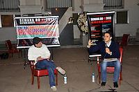 SAO PAULO, SP, 07 DE AGOSTO 2012 – O candidato a prefeitura de Sao Paulo Gabriel Chalita (PMDB) participou nesta noite de debate com os estudantes da Faculdade de Direito da Universidade de São Paulo, promovido pelo Centro Academico XI de Agosto. (FOTO: THAIS RIBEIRO / BRAZIL PHOTO PRESS).