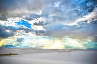 White Sands Sunset - New Mexico - White Sands National Monument