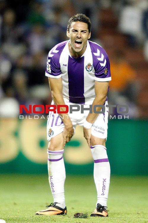 Real Valladolid's Oscar Gonzalez during La Liga match.August 31,2013. Foto © nph / Acero)