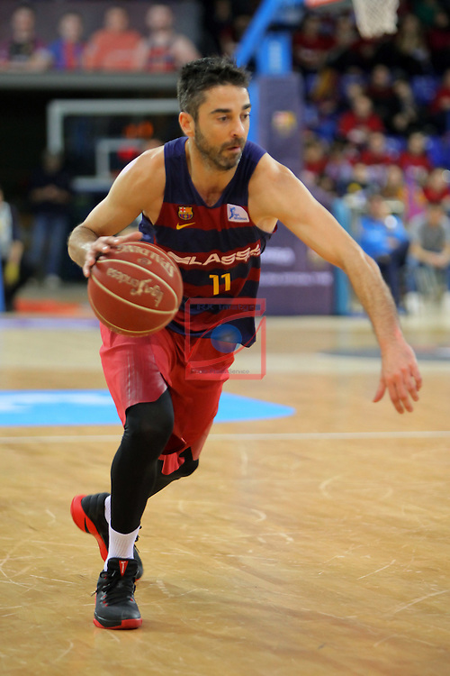 League ACB-ENDESA 2016/2017 - Game: 21.<br /> FC Barcelona Lassa vs ICL Manresa: 92-72.<br /> Juan Carlos Navarro.