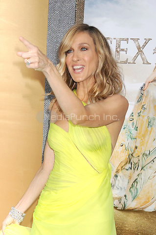 Sarah Jessica Parker at the film premiere of 'Sex and the City 2' at Radio City Music Hall in New York City. May 24, 2010.Credit: Dennis Van Tine/MediaPunch