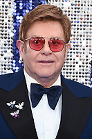 "LONDON, UK. May 20, 2019: Elton John arriving for the ""Rocketman"" UK premiere in Leicester Square, London.<br /> Picture: Steve Vas/Featureflash"