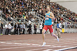 COLLEGE STATION, TX - MARCH 11: Josh Kerr of New Mexico crosses the finish line to win in the mile run during the Division I Men's and Women's Indoor Track & Field Championship held at the Gilliam Indoor Track Stadium on the Texas A&M University campus on March 11, 2017 in College Station, Texas. (Photo by Michael Starghill/NCAA Photos/NCAA Photos via Getty Images)