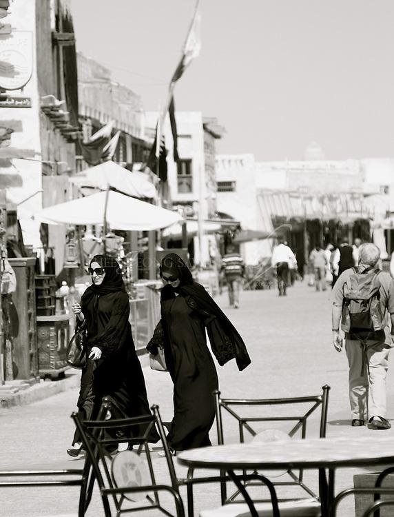 One Feb morning, main street of Souq Waqif, Doha, Qatar | Feb 10