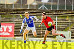 Killian Spillane Templenoe  in Action Against Jeremiah Hoare Glenbeigh in the Junior County Final at Fitzgerald Stadium Killarney on Sunday.