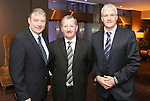 Pictured at the Limerick Sports Partnership Sports Awards were: Padraig Power, Mike Tierney &amp; Phelim Mackey.<br /> Picture  Credit Brian Gavin Press 22
