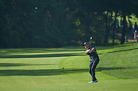 Henrik Stenson (SWE) hits his approach shot on 11 during 1st round of the 100th PGA Championship at Bellerive Country Cllub, St. Louis, Missouri. 8/9/2018.<br /> Picture: Golffile | Ken Murray<br /> <br /> All photo usage must carry mandatory copyright credit (© Golffile | Ken Murray)