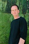David Bergen, Canadian writer, Saint Malo, 2002.
