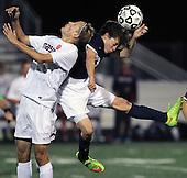 Cranbrook-Kingswood vs Mason at Harrison High School, Varsity Soccer, 11/4/15