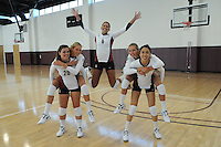 STANFORD, CA - AUGUST 8:  Mary Ellen Luck, Carly Wopat, Rachel Williams, Sam Wopat, and Lydia Bai during picture day on August 8, 2010 in Stanford, California.
