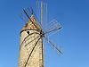 typical windmill in Mallorca<br /> <br /> t&iacute;pico molino de viento en Mallorca<br /> <br /> typische Windm&uuml;hle auf Mallorca<br /> <br /> 2272 x 1704 px