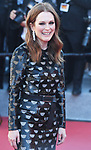 NON EXCLUSIVE PICTURE: MATRIXPICTURES.CO.UK<br /> PLEASE CREDIT ALL USES<br /> <br /> WORLD RIGHTS<br /> <br /> American actress Julianne Moore attending the 'Okja' screening, during the 70th Cannes Film Festival, France.<br /> <br /> MAY 20th 2017<br /> <br /> REF: RHD 171023